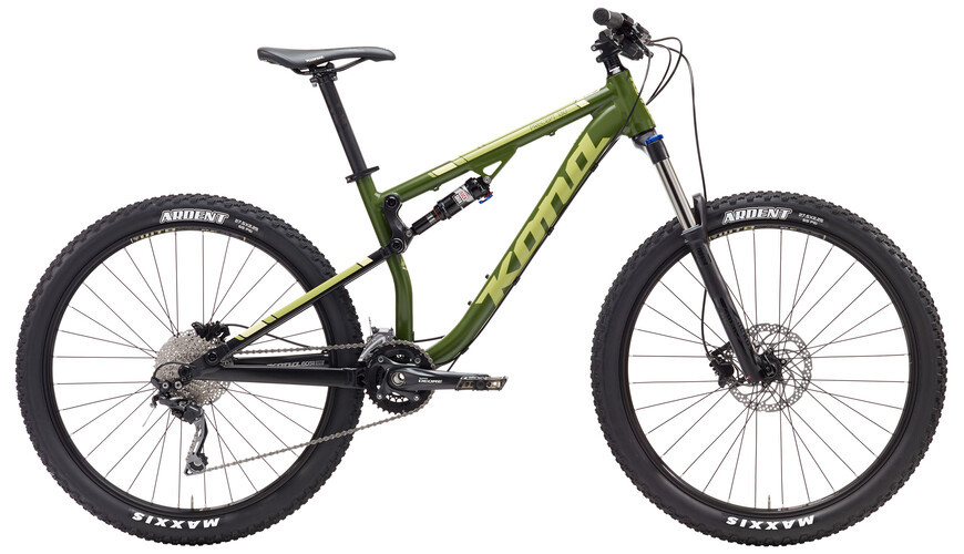 "Kona Precept 130 27,5"" matt green"
